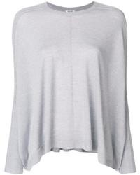 Jersey con cuello circular blanco de Kenzo