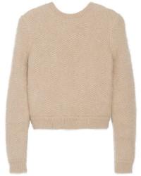 Jersey con Cuello Circular en Beige de Givenchy