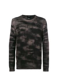 Jersey con cuello circular en gris oscuro de Avant Toi