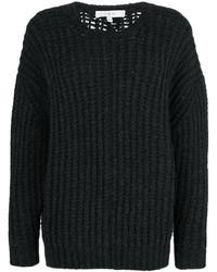 Jersey con cuello circular en gris oscuro de IRO