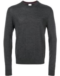 Jersey con cuello circular en gris oscuro de Paul Smith