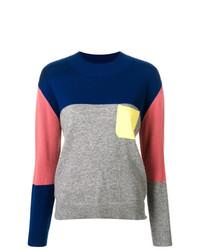 Jersey con cuello circular en multicolor de Chinti & Parker