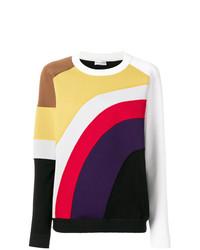 Jersey con cuello circular en multicolor de Sonia Rykiel