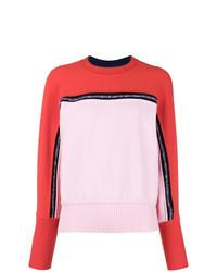 Jersey con cuello circular en multicolor de Sportmax