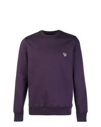 Jersey con cuello circular en violeta de Ps By Paul Smith