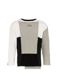Jersey con cuello circular estampado en multicolor de A-Cold-Wall*