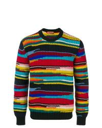 Jersey con cuello circular estampado en multicolor de Missoni