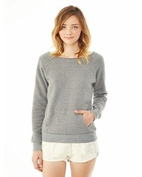 Jersey con Cuello Circular Gris de Alternative