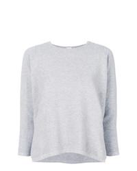 Jersey con cuello circular gris de C.T.Plage
