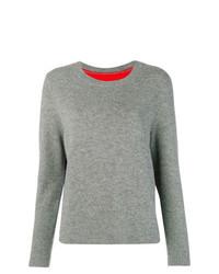 Jersey con cuello circular gris de Chinti & Parker