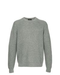 Jersey con cuello circular gris de D'urban