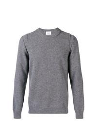 Jersey con cuello circular gris de Dondup