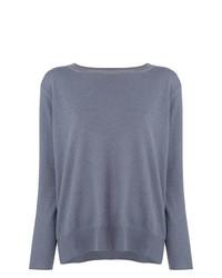 Jersey con cuello circular gris de Fabiana Filippi