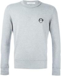 Jersey con cuello circular gris de Givenchy