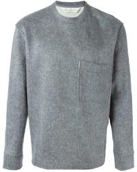 Jersey con cuello circular gris de Golden Goose Deluxe Brand