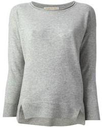 Jersey con cuello circular gris de MICHAEL Michael Kors