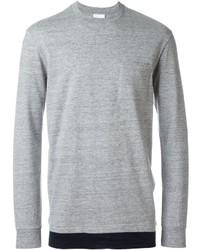 Jersey con cuello circular gris de Nike