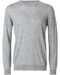 Jersey con cuello circular gris de Nuur