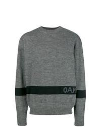 Jersey con cuello circular gris de Oamc