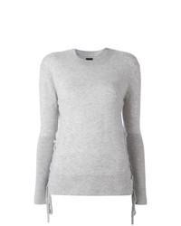 Jersey con cuello circular gris de RtA