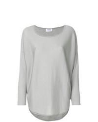 Jersey con cuello circular gris de Snobby Sheep