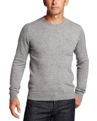 Jersey con cuello circular gris de Williams Cashmere