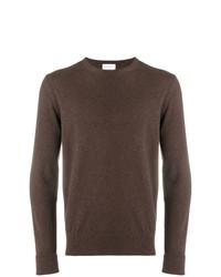 Jersey con cuello circular marrón de Ballantyne