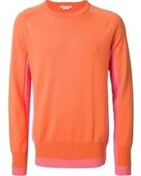 Jersey con cuello circular naranja de Marc Jacobs