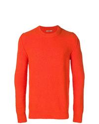 Jersey con cuello circular naranja de Nuur