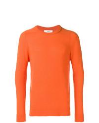Jersey con cuello circular naranja de Pringle Of Scotland