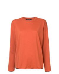 Jersey con cuello circular naranja de Sofie D'hoore