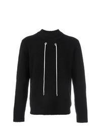 Jersey con cuello circular negro de Craig Green