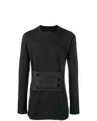 Jersey con cuello circular negro de D.GNAK