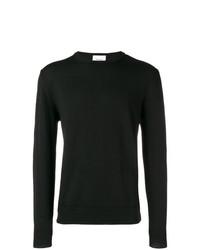 Jersey con cuello circular negro de Dondup
