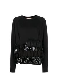 Jersey con cuello circular negro de Gina