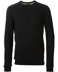 Jersey con cuello circular negro de Kolor