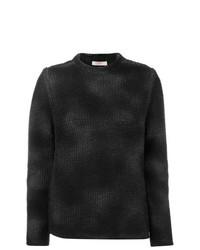 Jersey con cuello circular negro de Liska