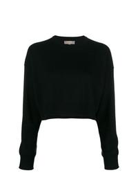 Jersey con cuello circular negro de N.Peal