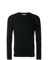 Jersey con cuello circular negro de Nuur