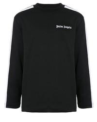 Jersey con cuello circular negro de Palm Angels