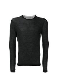 Jersey con cuello circular negro de Rrd