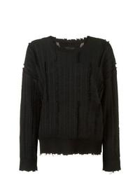 Jersey con cuello circular negro de RtA