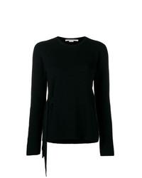 Jersey con cuello circular negro de Stella McCartney