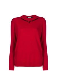 Jersey con cuello circular rojo de Adaptation