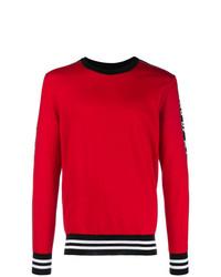 Jersey con cuello circular rojo de Dolce & Gabbana
