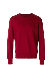 Jersey con cuello circular rojo de Natural Selection
