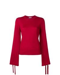 Jersey con cuello circular rojo de P.A.R.O.S.H.