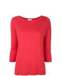 Jersey con cuello circular rojo de Snobby Sheep