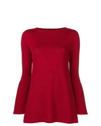 Jersey con cuello circular rojo de Sottomettimi