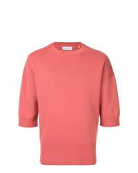 Jersey con cuello circular rosa de Cerruti 1881